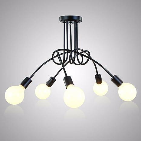 Joeyhome Vintage Lámparas de techo Iluminación de techo ...
