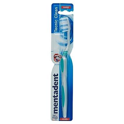 Mentadent - Tecnic Clean - Cepillo de dientes duro