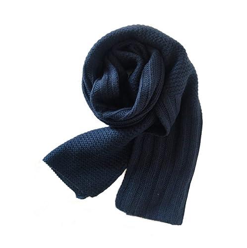 Signore Uomini Autunno Inverno Lavoro A Maglia Spessore Tenere Caldo All-match Semplice Sciarpa,01-OneSize