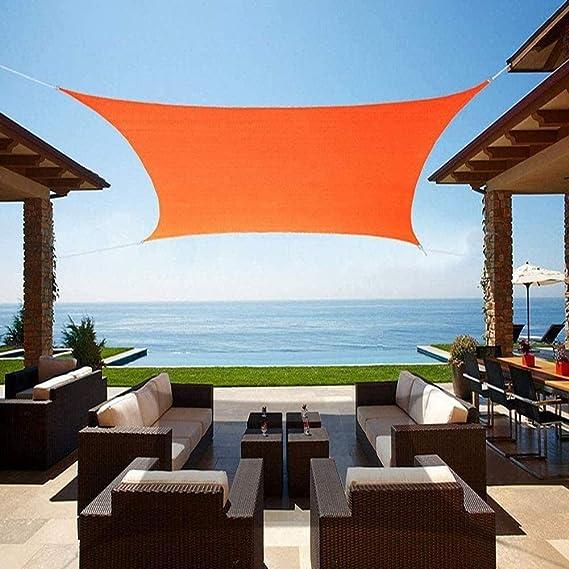 Velo De Sombra Impermeable Rectangular, 95% Anti UV UV ...