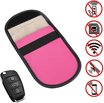yygift Keyless Go Protección Auto Estuche Llavero RFID NFC Estuche Llavero Carcasa apantallamiento Universale Funda Radio Llave Universal Auto antirrobo Protección antirrobo: Amazon.es: Electrónica