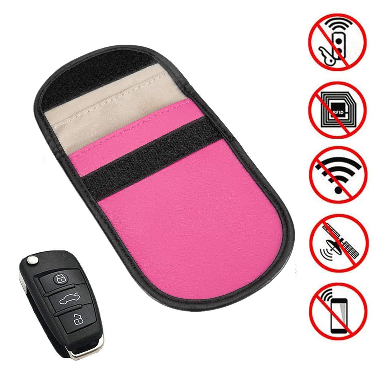 yygift Keyless Go Protección Auto Estuche Llavero RFID NFC ...
