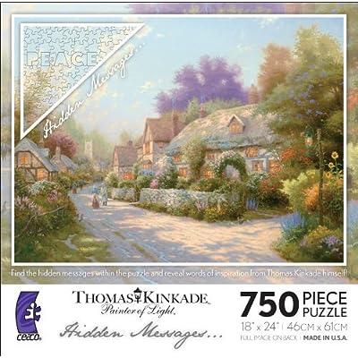 Thomas Kinkade Hidden Messages - Cobblestone Village: Toys & Games
