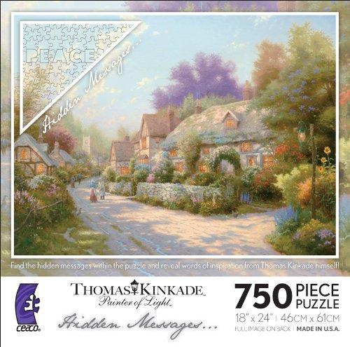 Cobblestone Village Thomas Kinkade Hidden Messages