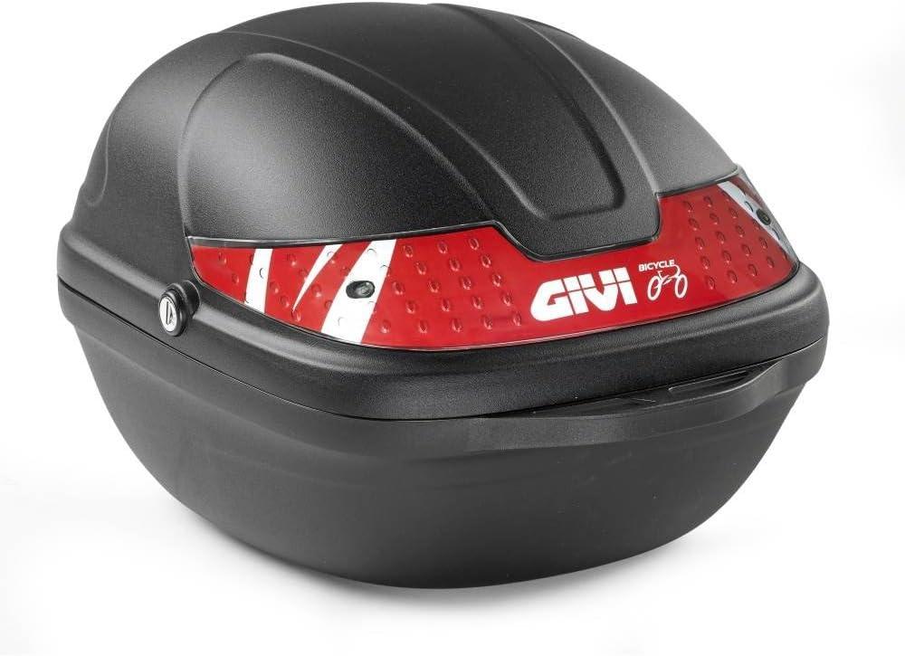 Givi CY14N Bicicleta Baúl, 14 litros, Color Negro, Maximo 2 Kg de Carga, 306 x 222 x 330 mm