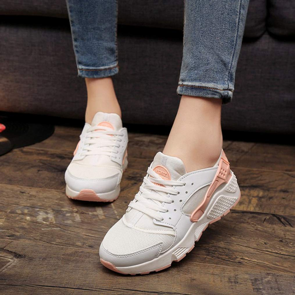 Lady Fashion Air Mesh Non Slip Casual Shoes Grils Wedges Canvas Sneakers Women