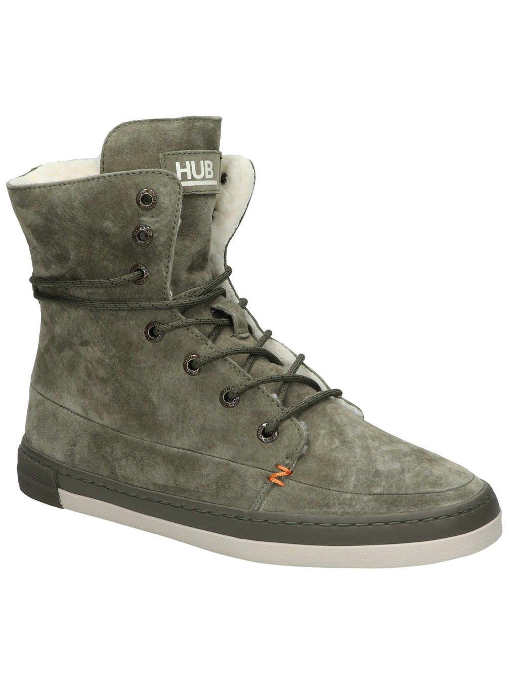 Hub Vermont High N30, Zapatillas Altas para Mujer 39 EU|Verde