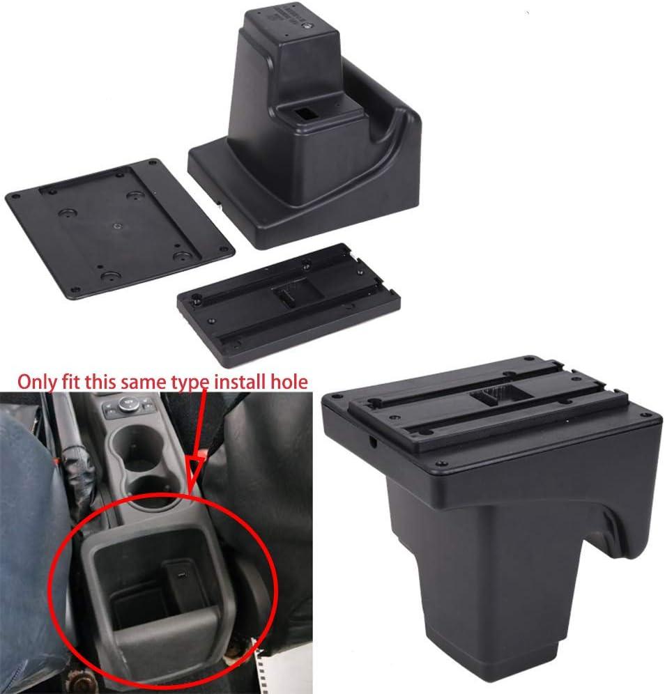 Armlehne Mittelkonsole Aufbewahrungsbox Mit Aschenbecher Und Getränkehalter Für Focus 3 Mk3 2011 2019 Auto
