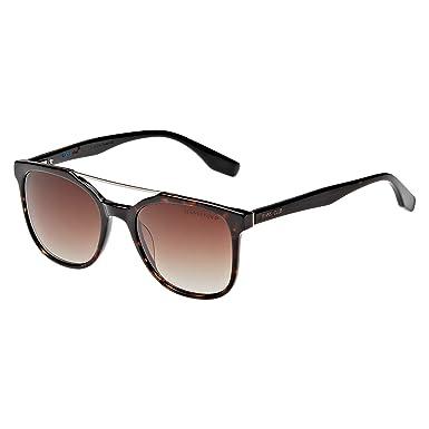 38c03becc نظارة شمسية بتصميم مربع من دولتشي اند غابانا لكلا الجنسين - اطار بلون اسود،  عدسات بلون رمادي، DG421-002-56