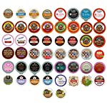 Coffee, Tea, Cider, Cappuccino and Hot Chocolate Single Serve Cups For Keurig K Cup Brewers Variety Pack Sampler, 50 Count made by Perfect Samplers
