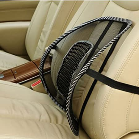 Cdycam Car Office Seat Chair Massage Back Lumbar Support Mesh Aeration Pad Cushion Amazon De Auto
