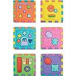 Brinquedo Educativo Cubo Didatico Grande 2 em 1, Merco Toys, 417, Multicor