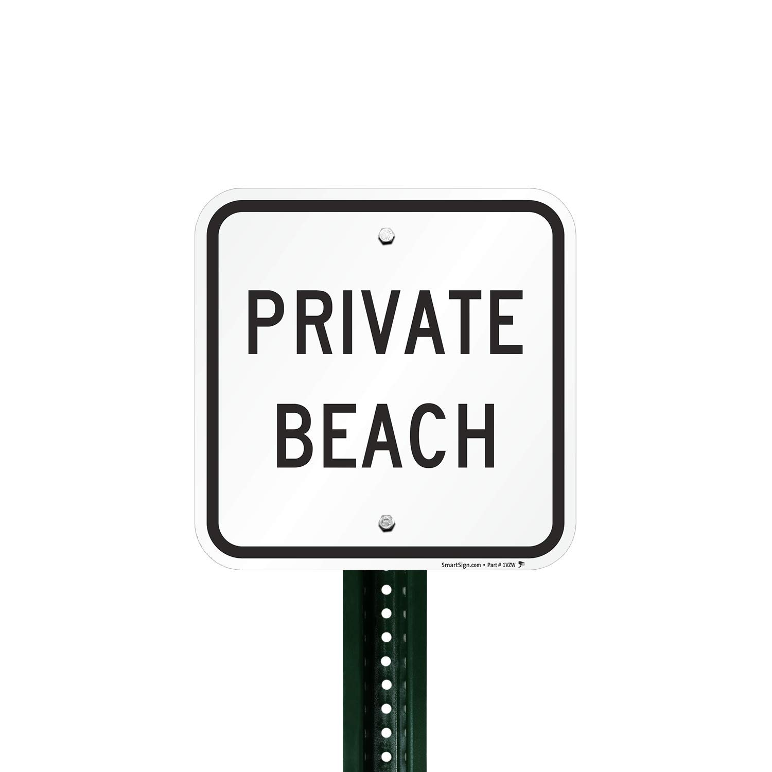 / Made in the USA Private Beach To Lowest Tide No Trespassing Aluminum Sign Warehouse /& Shop Area OSHA Notice Sign Protect Your Business 14 X 10 Aluminum Work Site