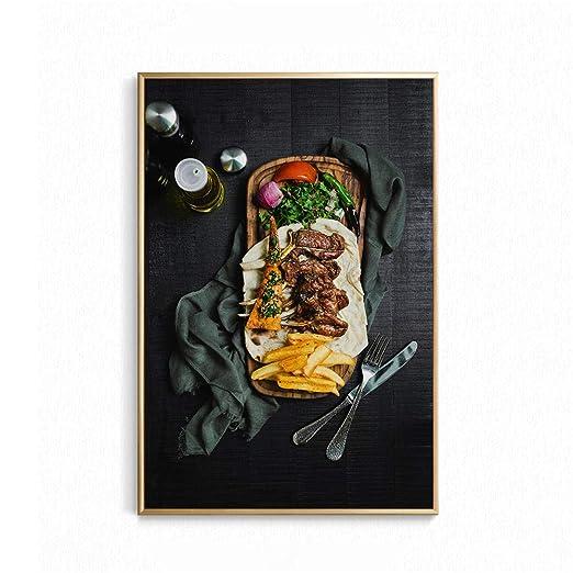 RYLL Arte de la Lona Cuadros de Pared para Comedor Impresión ...