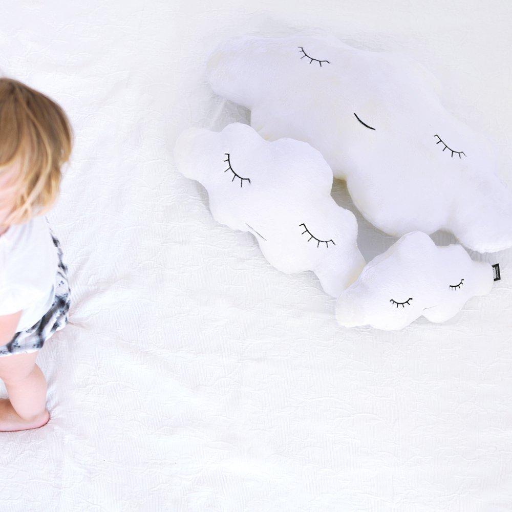25 x 16 x 50 cm 50 x 25 cm con Forma de Nube Amarillo Paparajote Factory Cloud Newborn S Soft Lemon Coj/ín Suave de Pelo Algod/ón Especial para beb/és