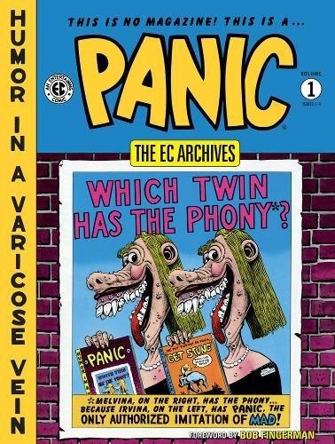 EC Archives: Panic Volume 1 (The Ec Archives: Panic)