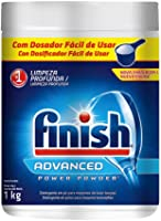 Finish Advanced Power Powder, Detergente em Pó para lava louças, 1 kg