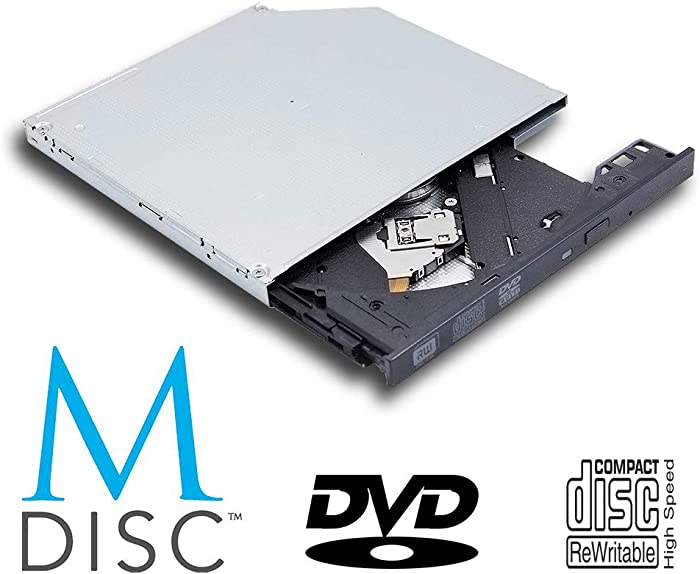 New Super Multi 8X DVD RW DL DVD-RAM Writer, for Acer Aspire E5-722 E5-721 E5-471 E5-471G E5-573 E5-573G E5-571G E5-571 Laptop Computer, M-Disc 24X CD-R Burner Slim Optical Drive Replacement