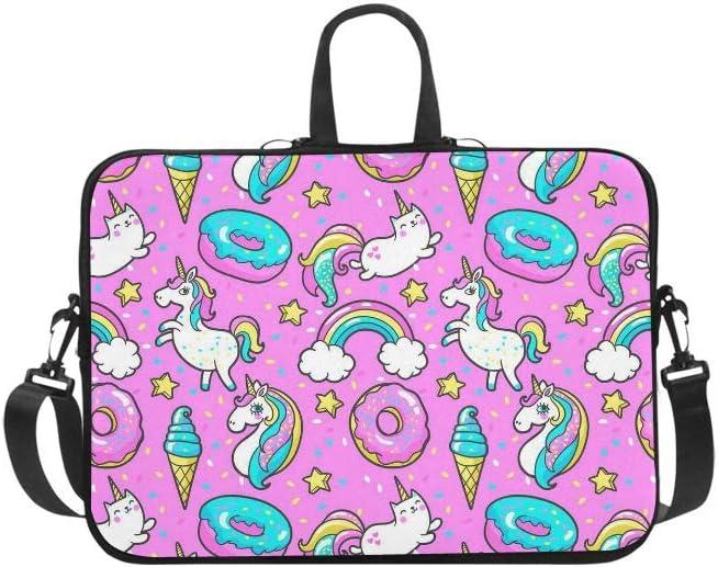 INTERESTPRINT Laptop Sleeve Case Cute Octopus Neoprene Protective Bag 13 Inch 13.3 Inch