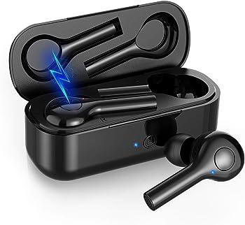 Hexdeer Wireless Earbuds Bluetooth Headphones with Charging Pad