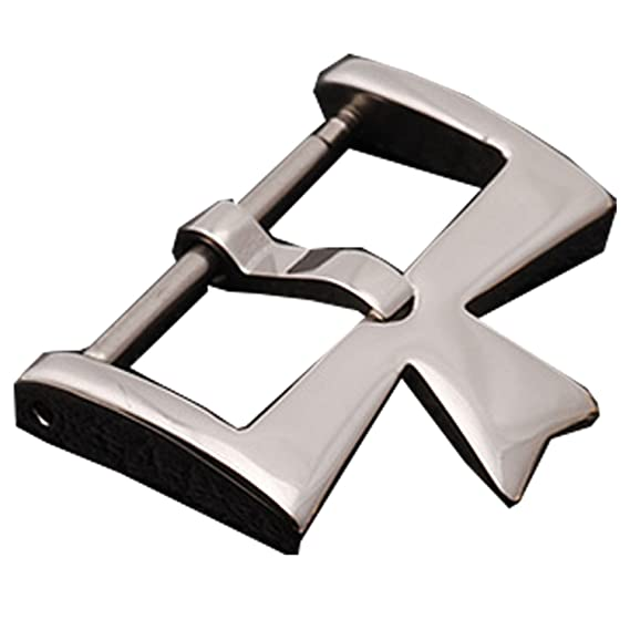 NUEVO 16 mm Cierre de plata hebilla de acero inoxidable para Vacheron Constantin VC Reloj