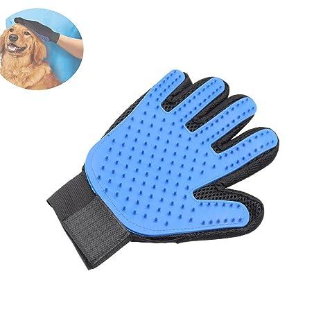 Safe silicona mascotas guante, autbye Aseo cepillos para gatos perros caballos deshedding limpio masaje Hair