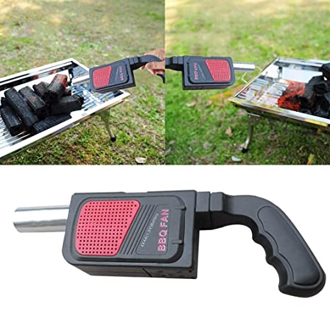 Ritokme BBQ Fan Barbecue Grilling Handheld Air Blower ...