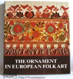 Ornament in European Folk Art, Peesch, R., 0785558721