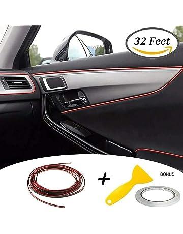 Tiras de ajuste de molduras interiores del coche - Automan 32ft Gap Filtros de relleno Tiras