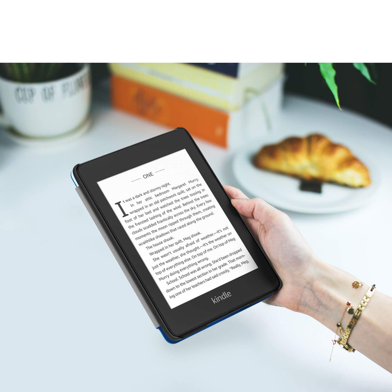 10/ème g/én/ération, 2018 Chats Orange /étui Pliable en Cuir Super Fin et l/éger avec Auto R/éveil//Veille MoKo /Étui de Protection Compatible avec Kindle Paperwhite