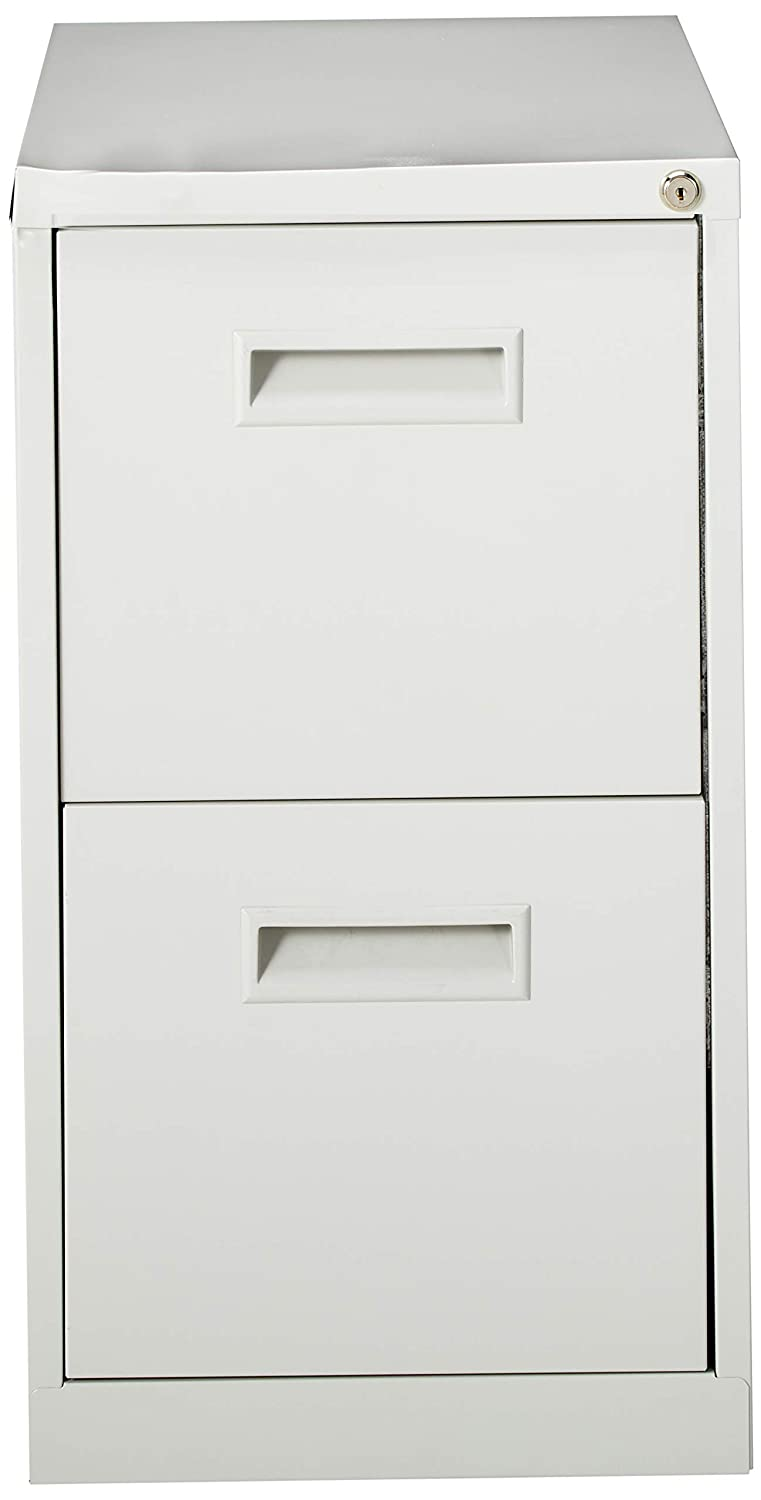 15 by 22-7//8 by 28-Inch Lorell Mobile Pedestal File//File Light Gray