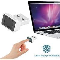 ShangSky Mini USB-Fingerabdruckleser,USB Fingerprint Reader,360° Grad Touch Speedy Matching, Speedy Passender,fido Security Key für Windows 7, 8 und 10