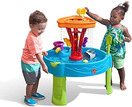 Step 2 COS1185713 Summer Seaside Duchas Splash Play Mesa de Agua ...