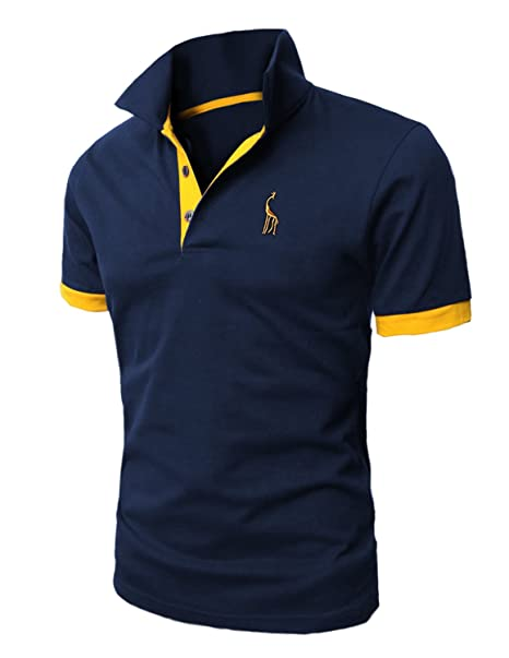 Mentrend-Leisure STTLZMC Polo Shirts Deportiva para Hombre ...