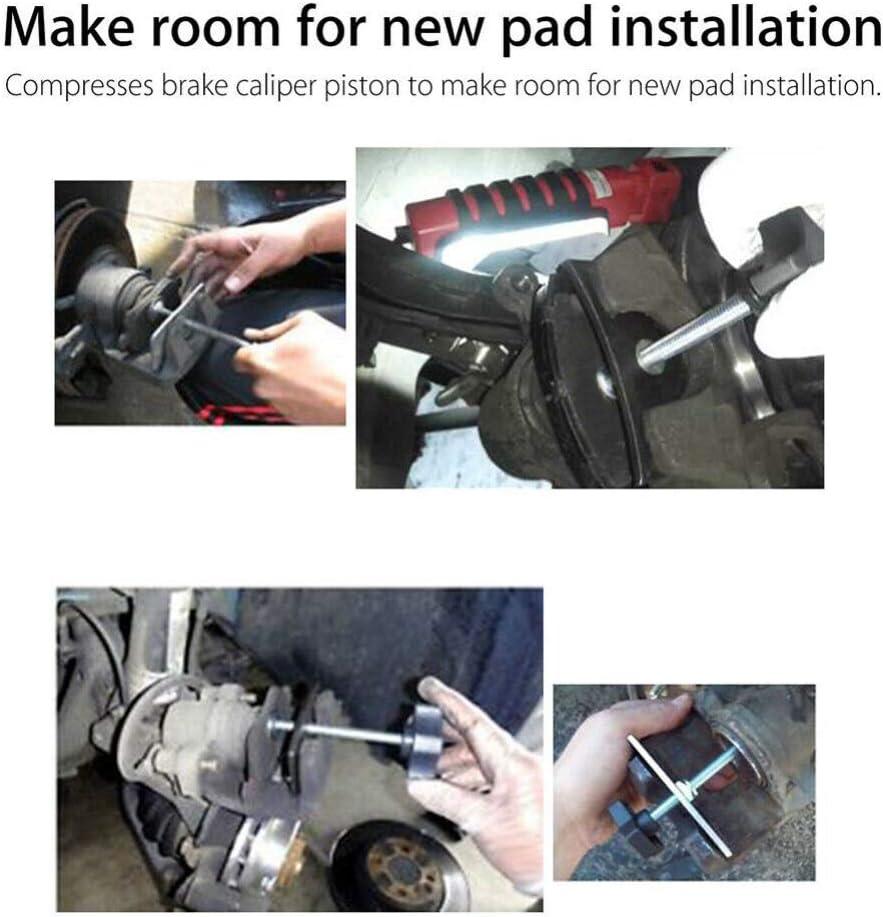 Grebest Disc Brake Pad Spreader Maintenance Tools Spreader Car Front Rear Disc Brake Pad Spreader Caliper Piston Compressor Repair Tool