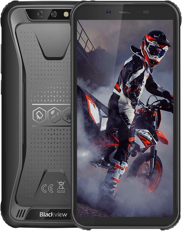 Móvil Resistente, Blackview BV5500 Plus Android 10 Teléfono 3GB + 32GB(SD 128GB), Smartphone 4G de 5.5