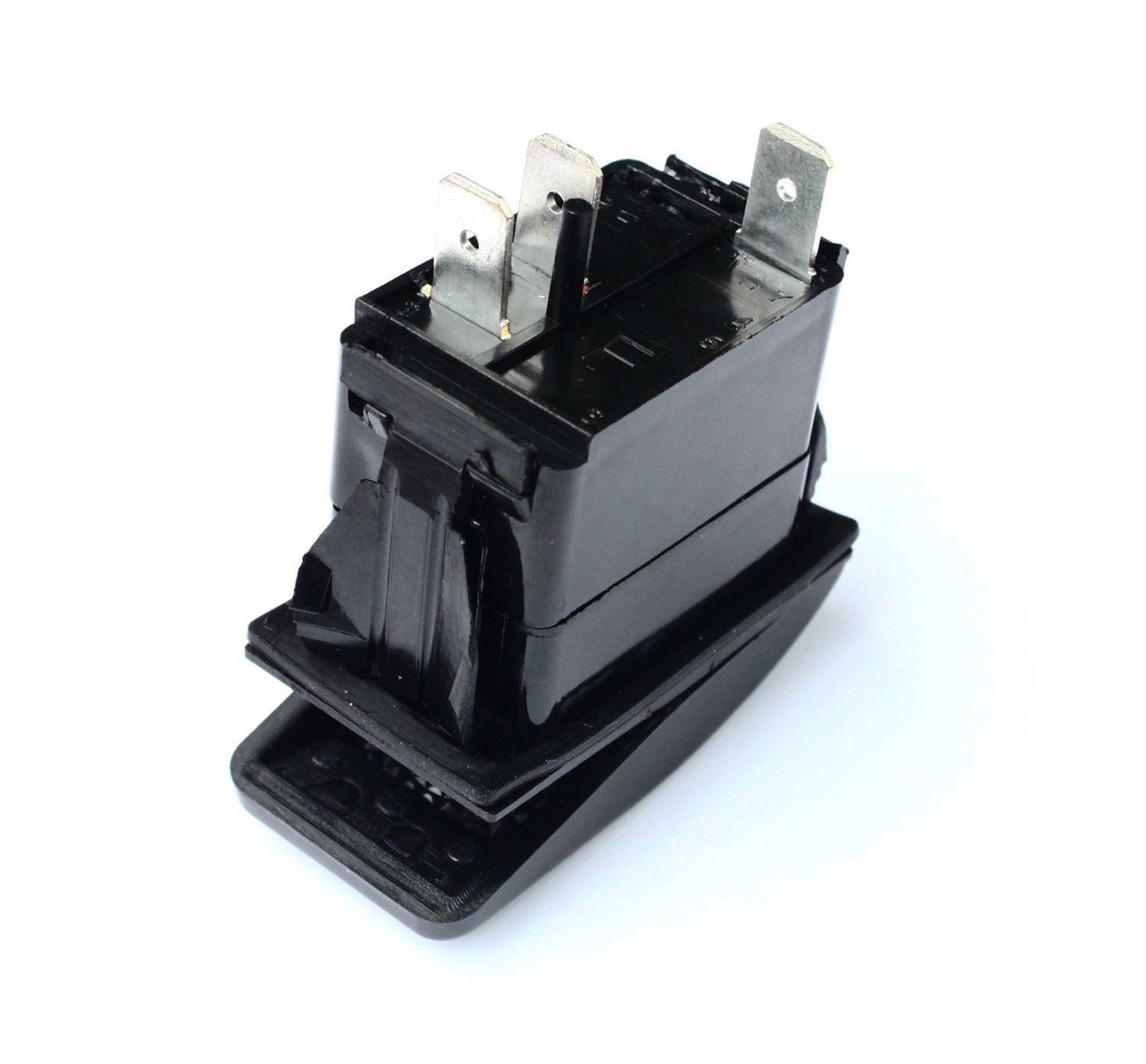 20 Amp Red Light Rocker Switch Kit Dash 3pin 12v All Contura Ii Switches Are Rated At 20amps Push Top Of Sr1001blpfba Universal Automotive