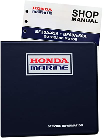amazon com honda bf35 bf40 bf45 bf50 a model marine outboard rh amazon com