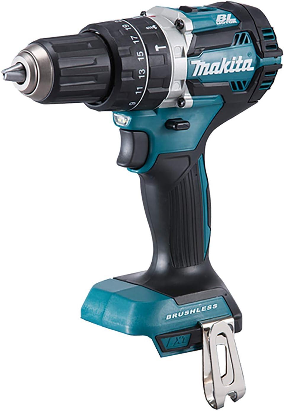 MAKITA DHP484Z 18V Combi Drill BL LXT 72 W, 18 V, Negro, Azul, Small