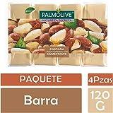 Jabón de Tocador Palmolive Natureza Secreta Castaña en Barra, 120 g, 4 Piezas