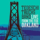 Live From The Fox Oakland [2 CD/Blu-ray] ~ Tedeschi Trucks Band Cover Art
