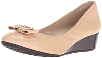 a6b4f9afd4 Amazon.com | Cole Haan Women's Emory Bow Wedge (40MM) Pump | Pumps