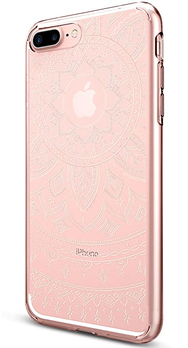 4 opinioni per Cover iPhone 7 Plus, Spigen [Cover Silicone Gel] **Liquid Crystal** [Shine