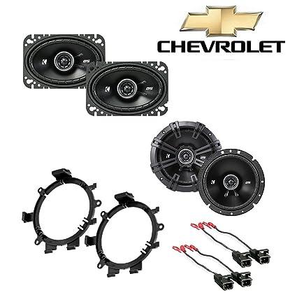 fits chevy silverado pickup 1999-2006 factory speaker kicker