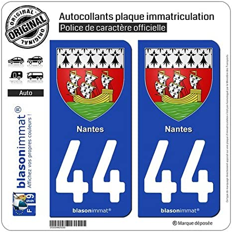 STICKER AUTOCOLLANT 44 Numbers Chiffre Numero STICKERS VINYL TUNING VOITURE