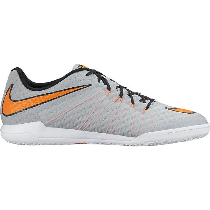 Amazon.com | Nike Hypervenomx Finale Indoor [WOLF GREY/WHITE/TOTAL ORANGE]  (11.5) | Soccer