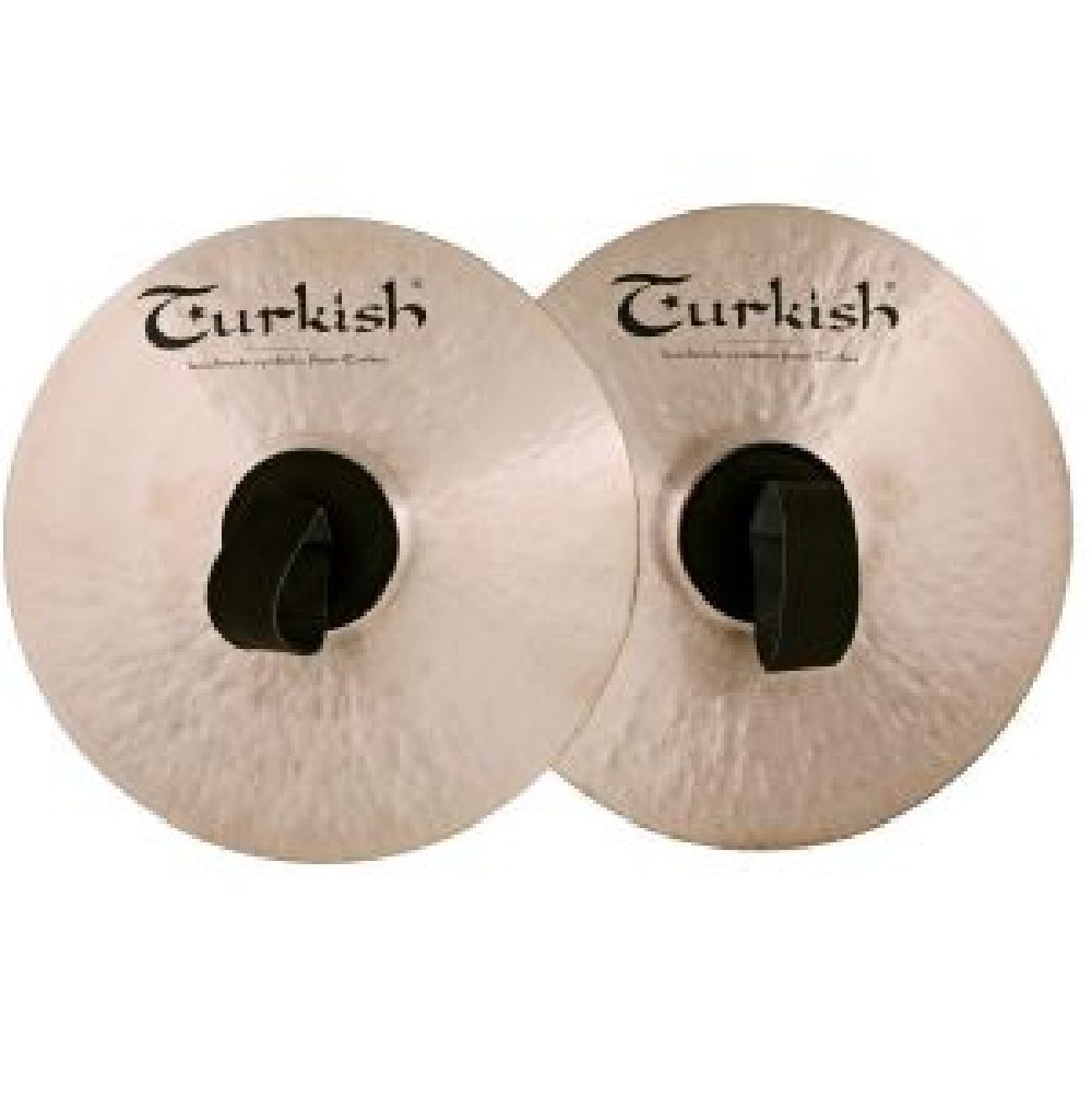 Turkish Cymbals 10-inch Classic Orchestra Band Cymbals C-OB10 by Turkish Cymbals