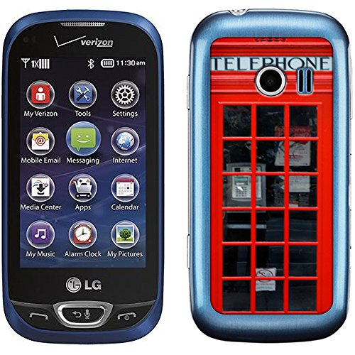 Skin Decal for LG Extravert 2 - Red British Phone Booth