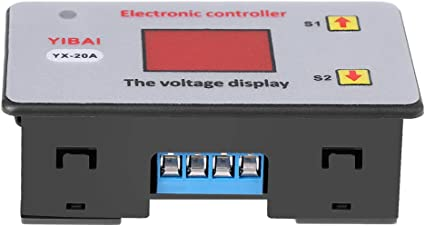 Battery Under-Voltage Controller 12V 20A Battery Low Voltage Cut Off Automatic Switch On Undervoltage Protection Controller with LED Indicator