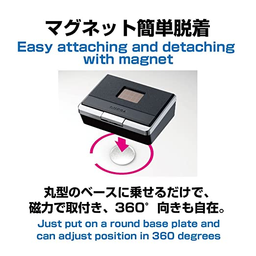 ED-139 Flat Car Ashtray Solar Powered LED Automatically Activate Nighttime High Volume Designed in Japan LTD EXEA SEIKOSANGYO CO.
